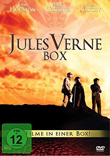 Jules Verne Box – 4 Filme in einer Box ( 2 DVDs, digitally remastered)
