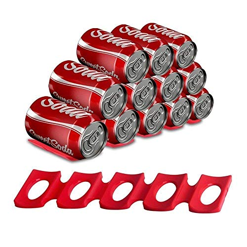 Cola, esteras de silicona para botellas de agua y latas de alimentos, soporte para armario de cocina, nevera, fiesta, bares, barbacoa, mesa de picnic