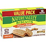 BISCUITS: Nature Valley biscuits are made with whole grain oats and almond butter. REAL INGREDIENTS: Hearty whole grain oats with no artificial flavors artificial colors, or high fructose corn syrup. WHOLE GRAIN: An excellent source of whole grain wi...