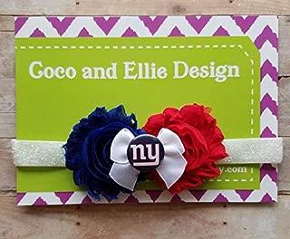 New York Giants headband/Giants headband/NY Giants headband/New York Giants baby gift