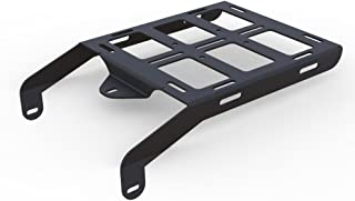 Cargo Rack Luggage Carrier Utility Rear Tail Holder Black Powdercoat fits: 93-16 Honda XR650L - Immix Racing - 100-001-black