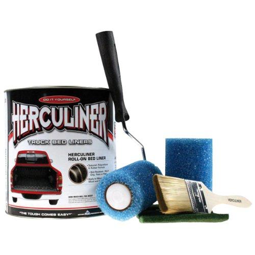 Beschichtungsfarben Kit von HERCULINER in schwarz 0,946 Liter