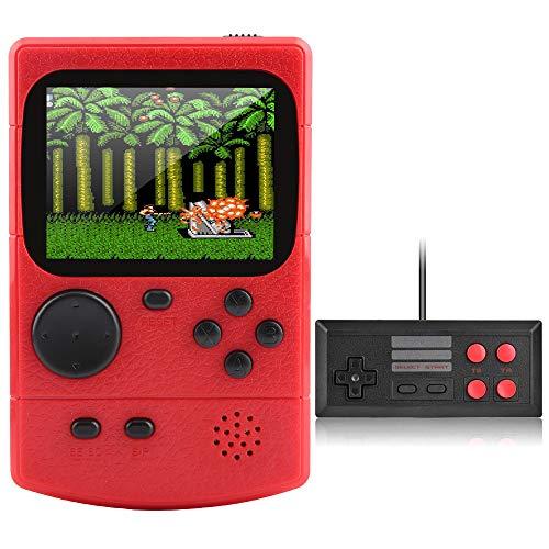Innoo Tech Handheld Spielkonsole, 500 Klassische Spielen Tragbare Retro-Videospielkonsole Mit 1020mAh Akku, 2.8-Zoll-LCD Bildschirm,Unterstützt Das Anschließen TV-Anschluss Und Zwei Spieler