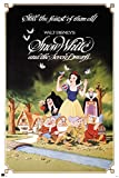 Schneewittchen - Classic - Disney Film Poster Märchen