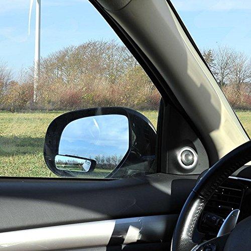 ProPlus 750613 dodehoek extra spiegel (2 stuks) rechthoekig 36x95 mm verstelbaar convex met 3M tape voor montage aan de buitenspiegel of met houder op de binnenspiegel