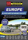 NOUVEAUTÉ ! Annuaire EUROPE des Aires & Parkings GRATUITS: Collection Noire 'Voyagez...