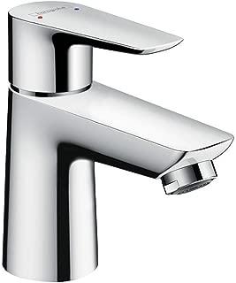 Armatur mit Auslauf H/öhe 70mm und Push-Open Ablaufgarnitur hansgrohe Wasserhahn Logis f/ür Niederdruck Chrom