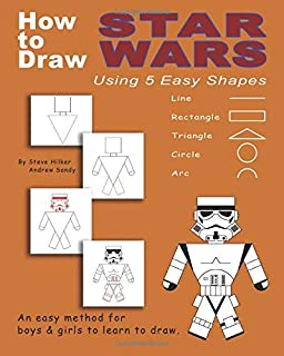 How to Draw Star Wars Using 5 Easy Shapes