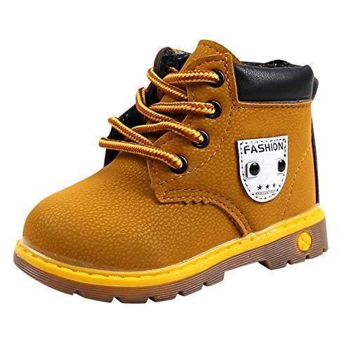 Chaussure FantaisieZ Chaussures Chaud pour Bébé Enfants Garçons Filles Martin Sneaker Boots Chaussures de Bébé Enfants Bottes Britanniques