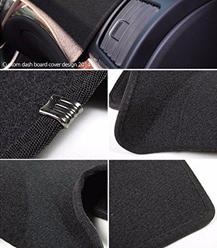 Black All Weather Protector 4 Piece Set AutoTech Zone Custom Fit Heavy Duty Custom Fit Car Floor Mat for 2011-2015 Kia Sorento SUV