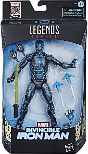 MARVEL Exclusive Legends Stealth Suit Invincible Iron Man 6-Inch Action...