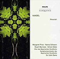 Handel: Messiah by PRICE / BURROWS / BAVARIAN RADIO SYM ORCH / DAVIS (2008-02-11)