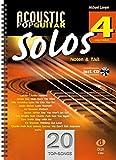 Acoustic Pop Guitar Solos 4: Noten & TAB - easy/medium