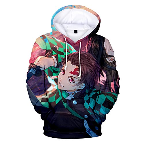 BAI Youth Hoodie Men's Jacket 3D Print Pullover Casual Slim Riding Sports Outdoor 3XL / C/M