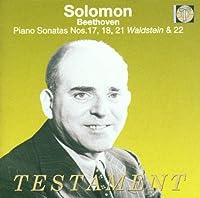 Piano Sonatas 17 18 21 & 22