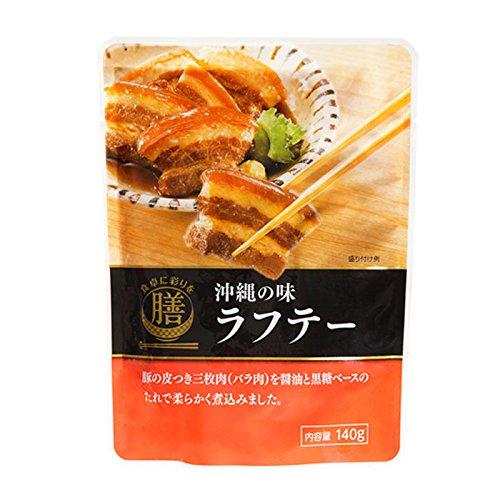 食卓に彩りを膳 沖縄の味 ラフテー 140g×5袋