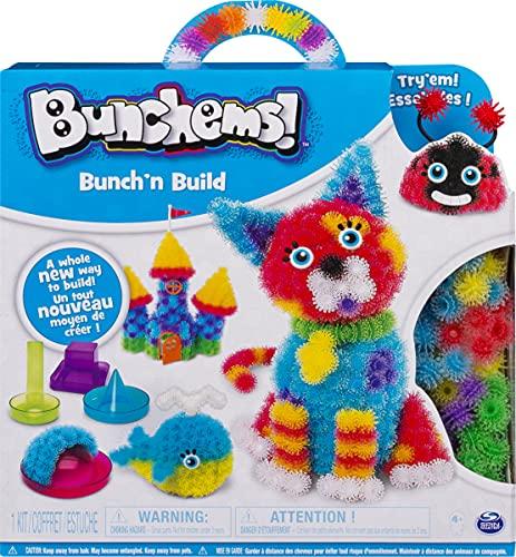 Bunchems Bunch and Build - Bunchems Formen Set - MINT - Vorschule - Feinmotorik fördern - Rechnen lernen