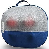 Miko Kumo Shiatsu Massage Pillow with Deep-Kneading, Subtle Vibration, Tapping Function, and Heat