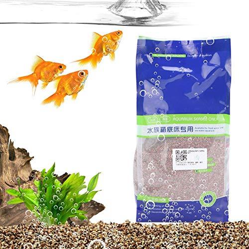 Redxiao Sandstein Aquarium Sand, Aquarium Sand Kies, DIY Zubehör für Aquarium