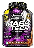 MuscleTech Mass Tech Mass Gainer Protein Powder, Build Muscle Size &...