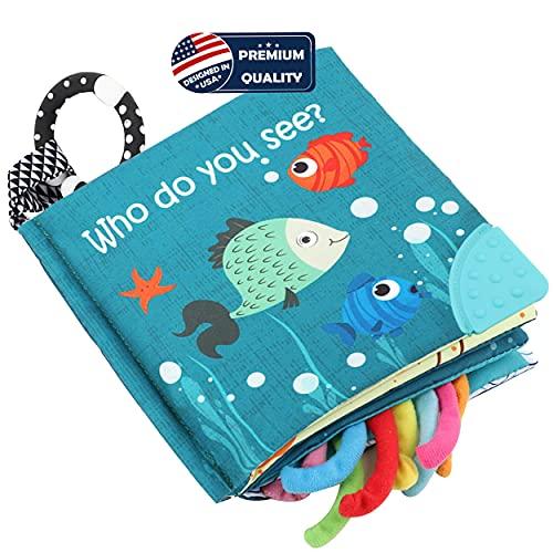 Fish Soft Cloth Book, Shark Tails S…