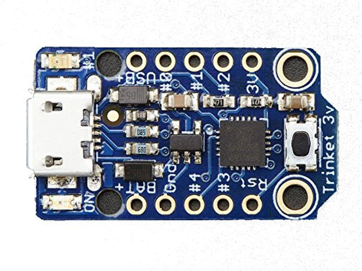囲む円周対Adafruit Trinket?–?Mini Microcontroller?–?3.3?V Logic