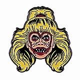 wangk Noche de los Demonios Suzanne Linnea Quigley Grito Reina Esmalte Pin Broche Es mi Maquillaje Bien