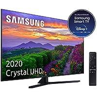 """Samsung Crystal Uhd 2020 65TU8505 - Smart TV de 65"""" con Resolución 4K, Crystal Display, Dual Led, HDR 10+, Procesador 4K, Sonido Inteligente, One Remote Control y Asistentes de Voz Integrados (Alexa)"""