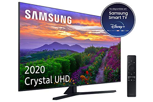 Samsung Crystal UHD 2020 55TU8505 - Smart TV de 55' con Resolución 4K, Crystal Display, Dual LED, HDR 10+, Procesador 4K, Sonido Inteligente, One Remote Control y Asistentes de Voz Integrados (Alexa)