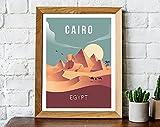 Kairo Druck, Ägypten Druck, Ägypten Reiseposter, Kairo