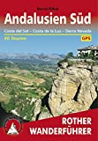 Andalusien Süd: Costa del Sol – Costa de la Luz – Sierra Nevada (Rother Wanderführer) (German Edition)