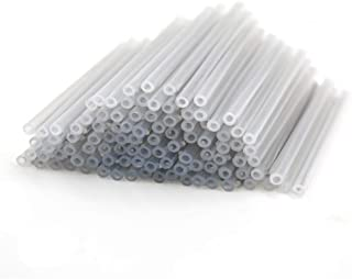 Primeda Preshrunk Fiber Optic Fusion Splice Protection Sleeves Dia 2.5mm 60mm, Full Heat Shrinking Tube 400pcs