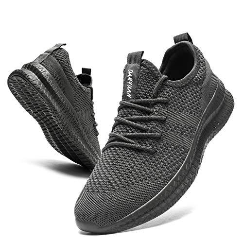 [KULIXIE] スニーカー メンズ ウォーキングシューズ ジョギングシューズ カジュアルシューズ スポーツシューズ トレーニング ランニング シューズ 運動靴 ジムバスケットボール 軽量 おしゃれ グレー 28cm