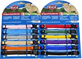 Puppy Dog Whelping Collars. 2 Sizes, Variable Amounts, Assorted Colurs (6 x Small / Medium)