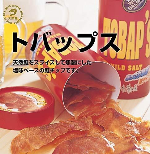 トバップス(あっさり塩味の鮭チップ)北海道天然鮭使用北海道佐藤水産