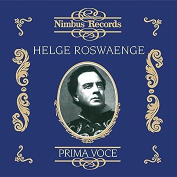 Helge Roswaenge (Recorded 1933 - 1942)
