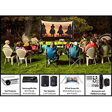 Backyard Theater Systems EZ-950 Recreation Outdoor Theater