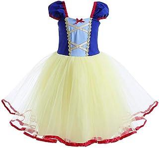 Ragazza Biancaneve Principessa Costume Un Ballo in Maschera Halloween Cosplay Festa Abito Compleanno Carnevale Costumi Sno...