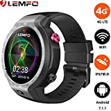 LEMFO LEM9, Dual Systems Orologio intelligente 4G LTE Phone Android...