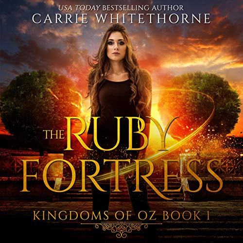 The Ruby Fortress Audiobook By Carrie Whitethorne cover art