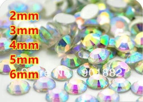 Xucus Crystal Max 51% OFF AB Resin Flatback Beads Nail Art Columbus Mall Decor for Garment
