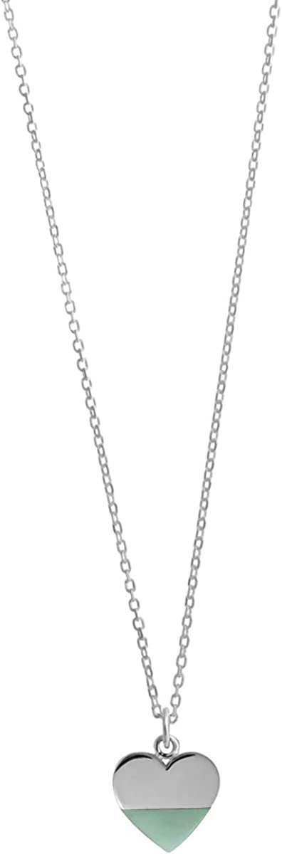 Long-awaited Boma Jewelry Sterling Silver Inches 18 Necklace Max 56% OFF Heart