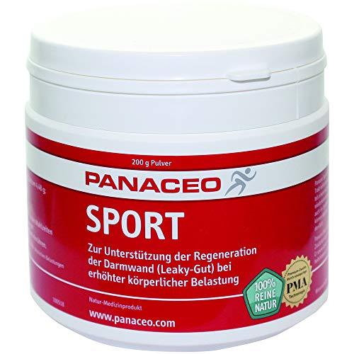 PANACEO Sport: Veganes Medizinprodukt aus Dolomit & Zeolith, als Darmkur und gegen einen belastungsinduzierten Leaky-Gut, Pulver, 200 g