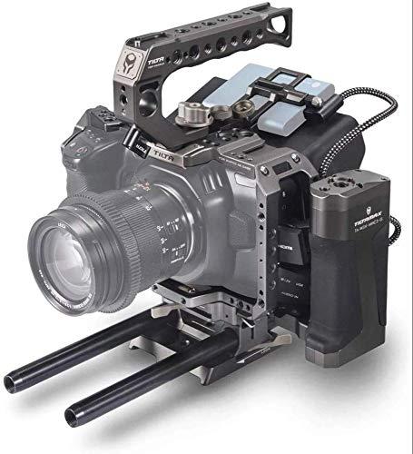 (ティルタグレー) TILTA TA-T01-A-G BMPCC 4Kケージ ブラックマジックポケットシネマカメラ 4Kリグ (タクティカルキット)