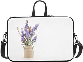 Laptop Bag Exquisite Decorative Vase Shoulder Bag Crossbody Bag Adjustable for Men Women Students Teens Business Travelling Work Leisure