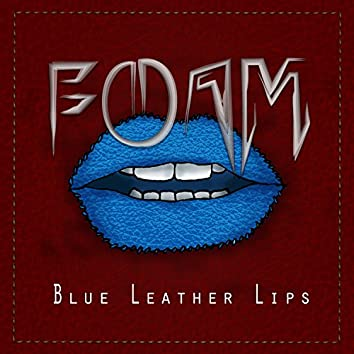 Blue Leather Lips