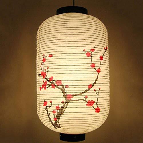 HULE Farolillos de papel estilo chino japonés Festival decoración del hogar accesorios Sushi tienda colgante decoración de papel Lantern,a,a,25x50cm