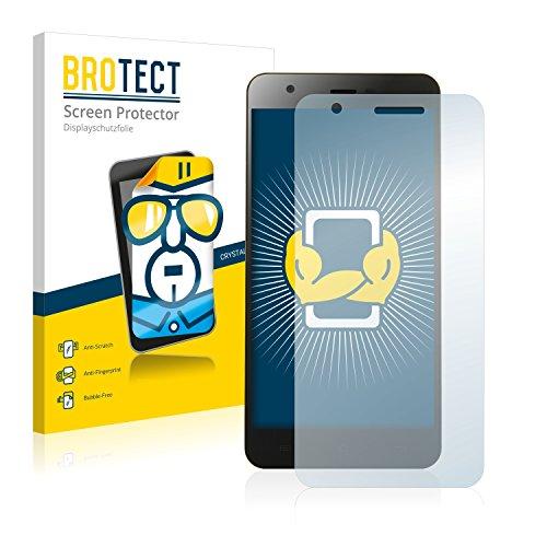 BROTECT Schutzfolie kompatibel mit Jiayu S3 (2 Stück) klare Bildschirmschutz-Folie