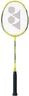 YONEX Duora 55 Flash Yellow Badminton Racket Strung with BG65 @ 24lb