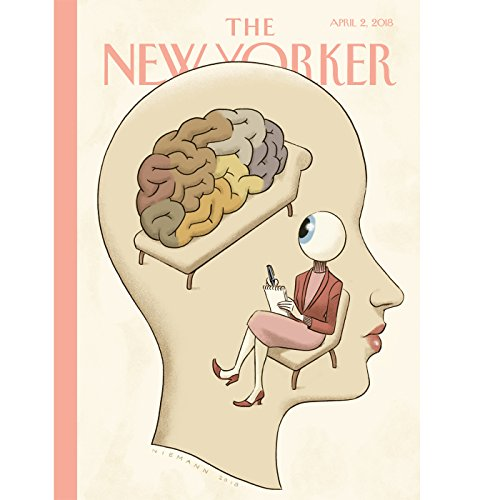 Couverture de The New Yorker, April 2nd 2018 (David Remnick, Rachel Aviv, Margaret Talbot)
